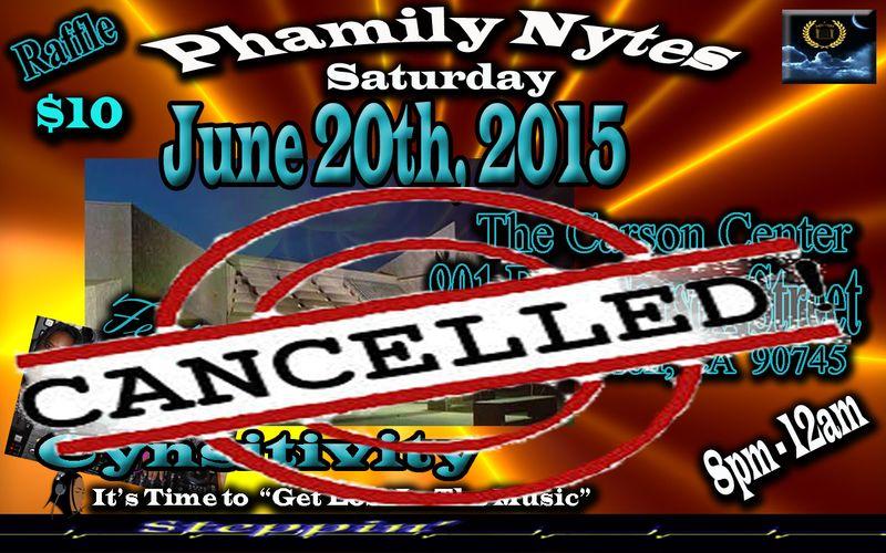 Phamily Nytes @ Carson Center Cancelled Small copy