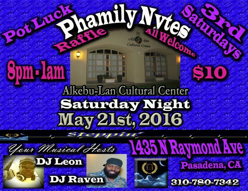 Phamily Nytes - May 2016 Leon & Raven copy