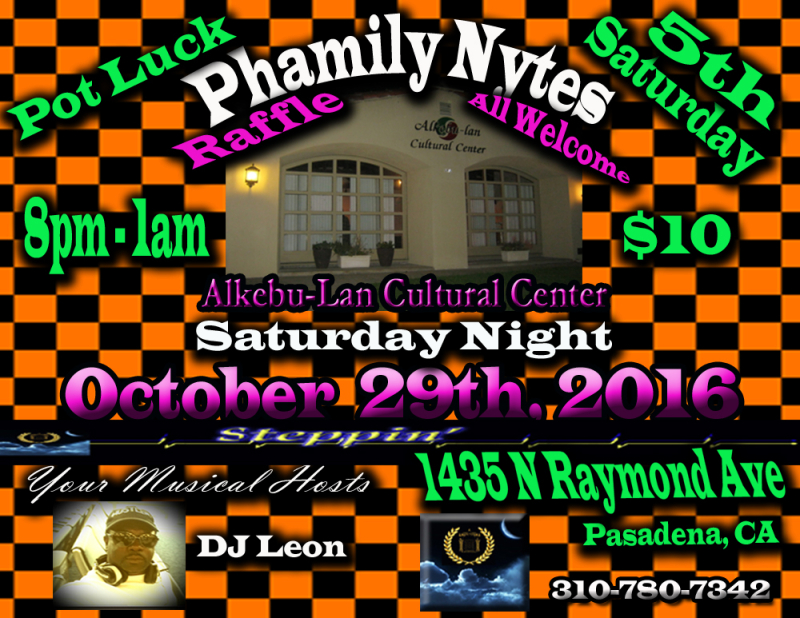 Phamily Nytes - October 2016 Leon Only copy