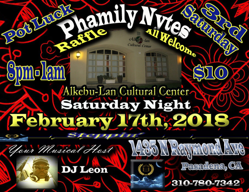 Phamily Nytes - February 2018 Leon Only copy