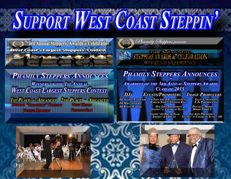 Support West Coast Steppin - Ad Small