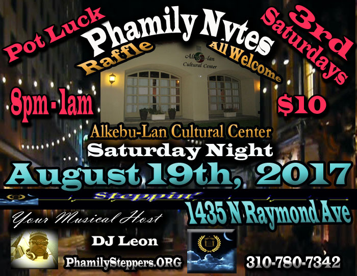 Phamily Nytes - August 2017 Leon Only copy