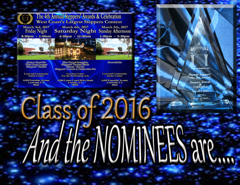 And the Nominees are 2016 copy
