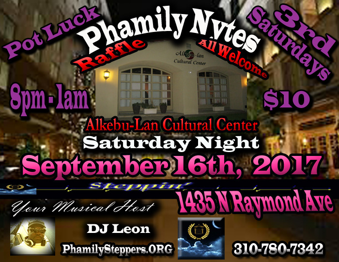 Phamily Nytes - September 2017 Leon Only copy