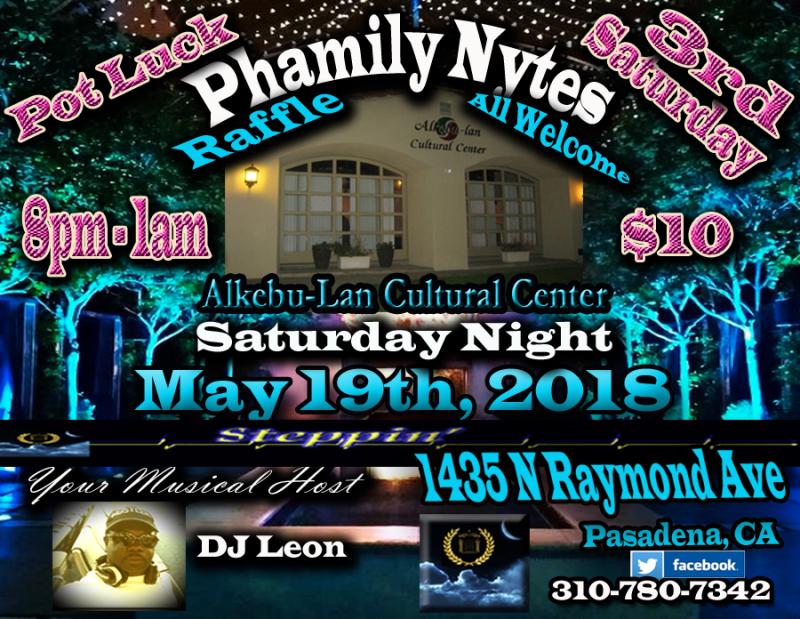 Phamily Nytes - April 2018 Leon Only copy