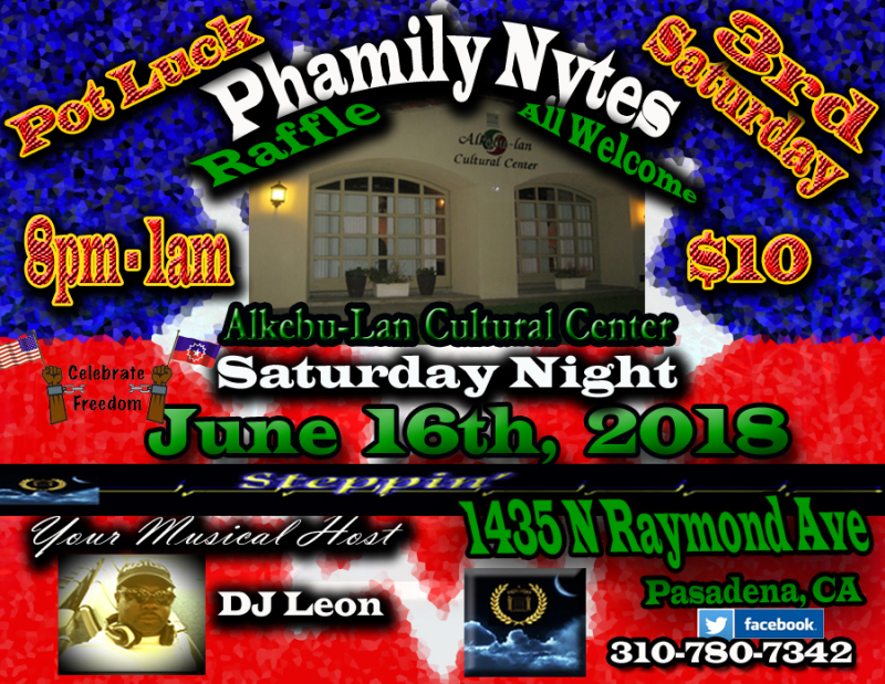 Phamily Nytes - June 2018 Leon Only copy