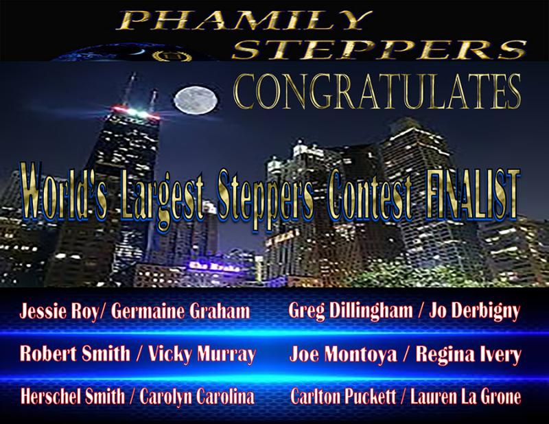 Phamily Steppers Congratulates 900px